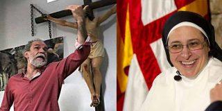 """La monja Caram acepta el 'me c... en Dios' de Willy Toledo porque el """"ojo por ojo"""" no es evangélico"""