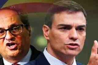 Lo que pretende Pedro Sánchez en Cataluña es un fraude, una felonía y una traición a los españoles