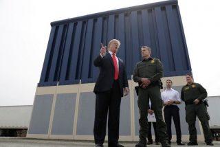 EEUU-México: La Patrulla reemplaza malla por muro de acero en la frontera de Texas