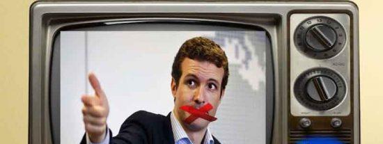 Estas son las palabras que TVE ha censurado a Casado cuando criticaba el indulto a los golpistas propuesto por Cunillera