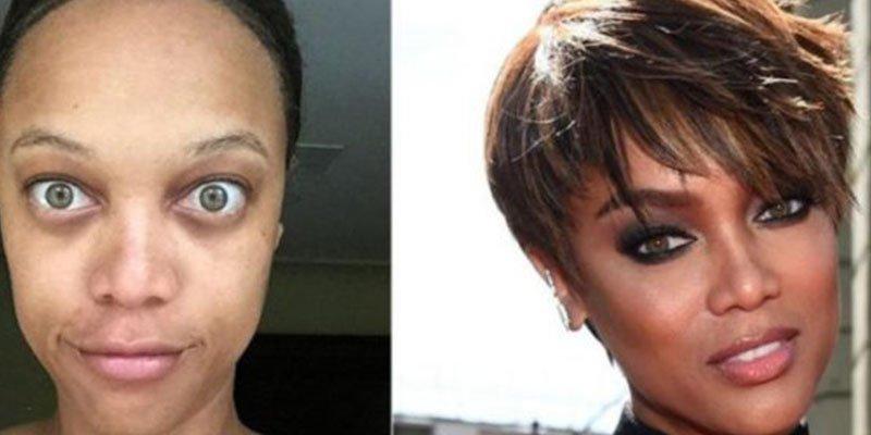 Las 20 famosas que se fotografían sin maquillaje para 'asustarnos'