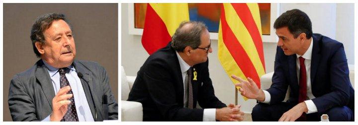 """Ussía destroza al Gobierno de Sánchez por plegarse a Torra: """"Le han puesto el culo a su disposición y gozo"""""""