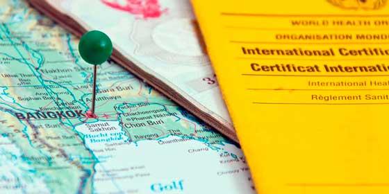 ¿Necesito alguna vacuna para viajar a Tailandia?
