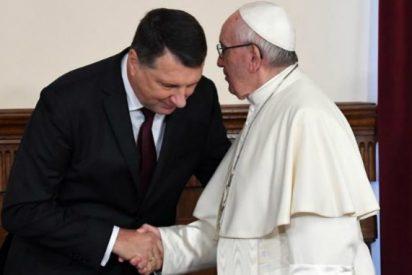 El presidente letón agradece al Papa su defensa de una Europa unida en su diversidad