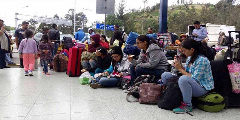 Ecuador flexibilizará la exigencia de documentos a los venezolanos