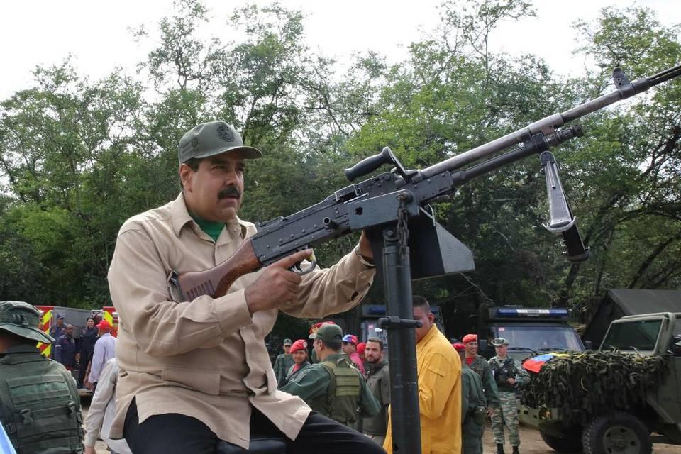 """El dictador Maduro a Almagro: """"prepara el fusil, basura"""", si quieres intervenir Venezuela"""
