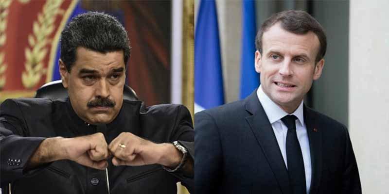 """El régimen chavista acusa a Francia de promover """"un cambio de gobierno"""" en Venezuela por acudir a la CPI"""