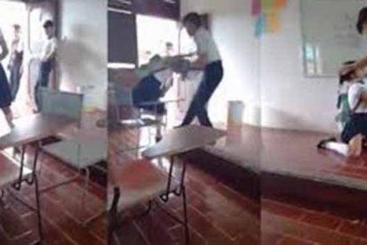MÉXICO: Un vídeo muestra la alarmante violencia existente entre estudiantes de secundaria