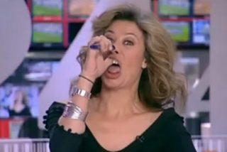 El último disparate de la presentadora más polémica de RTVE: cantar al estilo de la Lotería las cifras de los muertos por coronavirus