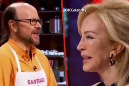 'Masterchef Celebrity': Carmen Lomana llora de la risa y Santiago Segura se enamora