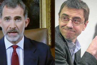 Monedero 'confiesa' lo que los de Podemos le quieren hacer a Felipe VI