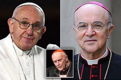 El exnuncio en Estados Unidos acusa al papa Francisco de 'mentir descaradamente'
