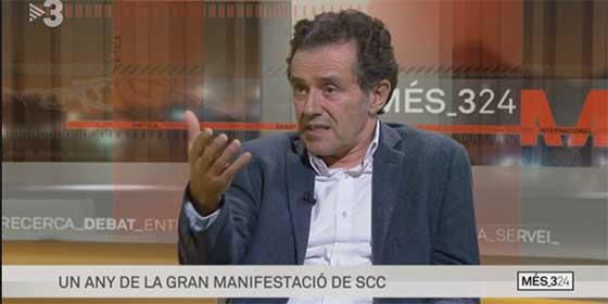 """Zasca del Vicepresidente de Sociedad Civil Catalana en TV3: """"Aquí vino a hablar el terrorista Carles Sastre"""""""
