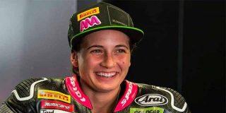 La española Ana Carrasco, primera piloto de la historia en ganar un Mundial de motociclismo