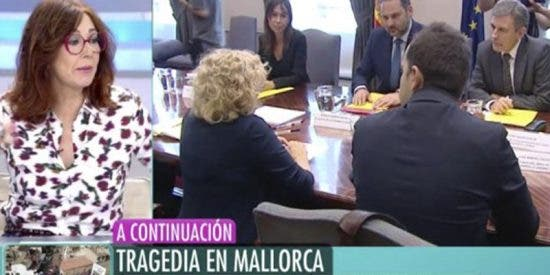 ¿Sabes qué dijo Ana Rosa Quintana sobre Manuela Carmena y que provocó la risa general?