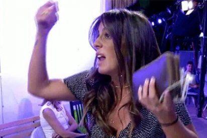 Anabel Pantoja no aguanta más los chismes de su familia, estalla marchándose del plató de Sálvame y se lleva una reprimenda brutal de Patiño