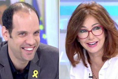 Hasta Ana Rosa Quintana se ríe de la imaginación conspiranoica de Beatriz Talegón con un mensaje en directo