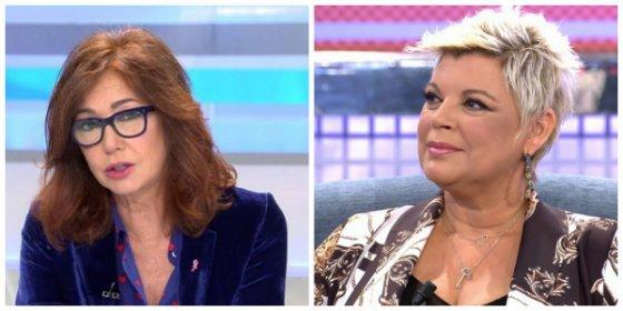 El formidable zasca de Ana Rosa Quintana a la 'fenicia' Terelu Campos
