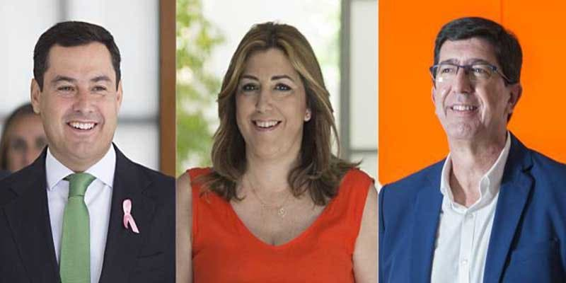 Andalucía: La suma de PP y Cs está ya a solo un diputado de la mayoría absoluta