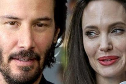 Angelina Jolie ya se olvidó de Brad Pitt en los brazos de Keanu Reeves