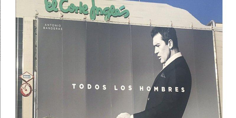 Es difícil no pensar en sexo al ver el anuncio de Antonio Banderas para El Corte Inglés