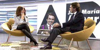 """José María Aznar: """"Pablo Iglesias es incapaz de mirar a la cara"""""""