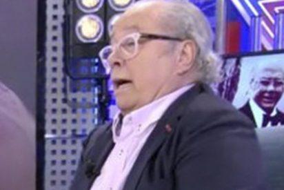 "Arévalo: ""Bertín Osborne fue agredido en Barcelona por llevar un chándal de España"""