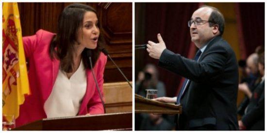 El acomplejado Iceta está 'Torrado' por el separatismo y sólo le faltó llamar facha a Inés Arrimadas