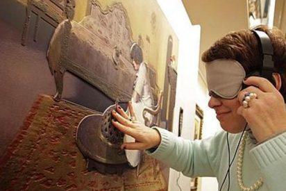 Así es el arte para ciegos