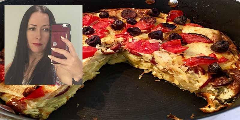 Esta australiana intenta hacer una tortilla española y el engendro ya es un hito en la historia de la gastronomía