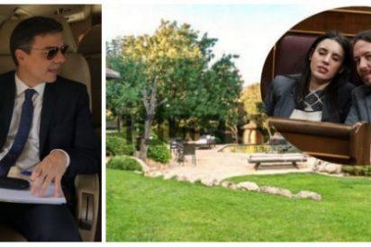 Autónomos, os toca la china de pagar la vigilancia del casoplón de Iglesias y los viajes de 'Gulliver' Sánchez