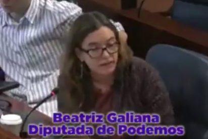 """El nuevo rebuzno de una diputada podemita: """"Hay niños con derechos y niñas con derechas"""""""