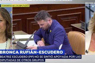 """¿De qué vas, Griso? La presentadora cuestiona a la diputada del PP humillada por Rufián: """"Lo de 'palmero' tal vez no era tan ofensivo..."""""""