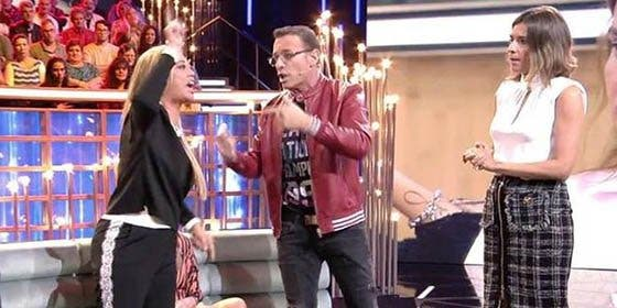 La mayor bronca vista en el debate de 'GH VIP 6': Carlos Lozano se vuelve loco contra Belén Esteban