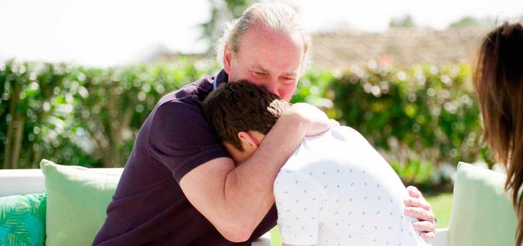 Bertín Osborne se derrumba entre lágrimas y tiene que abandonar la entrevista