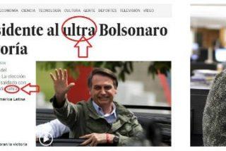 La explicación del odio africano de El País hacia Bolsonaro: peligra el negocio de Santillana en Brasil