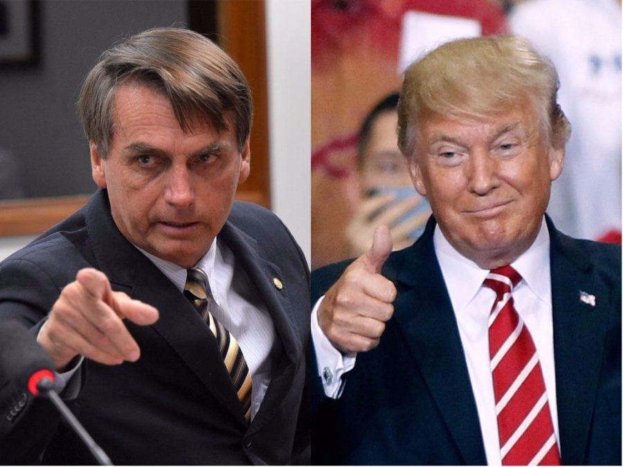 Trump y Bolsonaro, parecidos pero diferentes