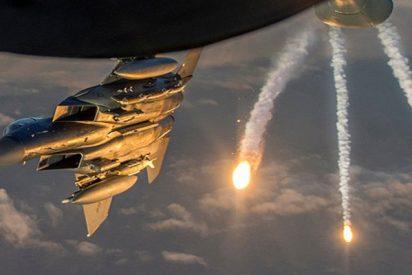 La coalición internacional bombardea la provincia siria de Deir ez Zor con fósforo blanco