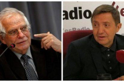 """Losantos cruje a Borrell por decir que desconoce de qué hablarán Iglesias y Junqueras: """"Este es un sinvergüenza"""""""