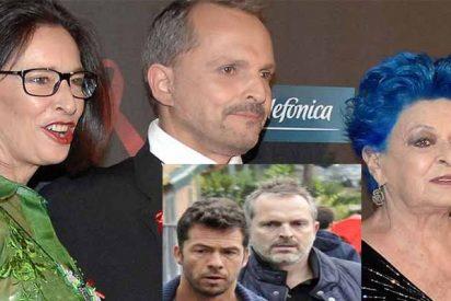 """Miguel Bosé sale del armario y con dolor: """"Se acabó, ya no podré acariciar a mis hijos"""""""