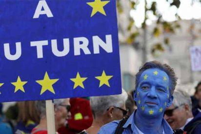 Miles de británicos reclaman en Londres un segundo referéndum sobre el Brexit