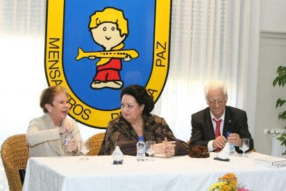 Mensajeros de la Paz organiza un homenaje público a la soprano Montserrat Caballé