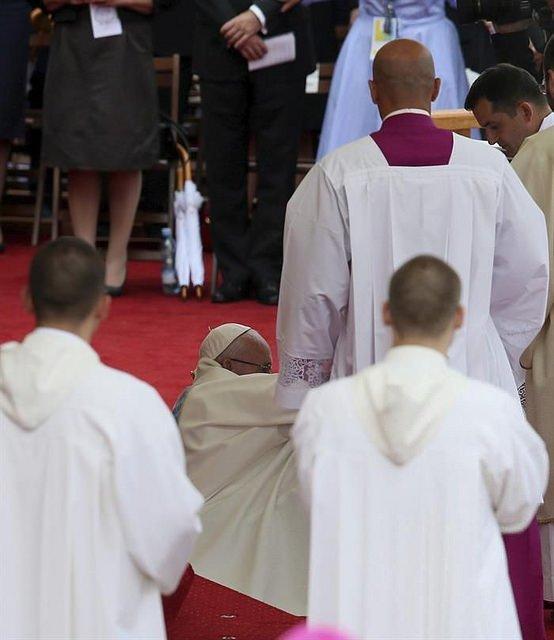 Francisco ha sufrido una caída, pero está bien