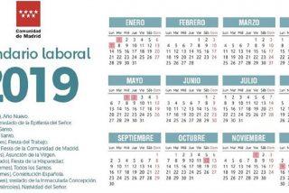 España: El calendario laboral de 2019 ya es oficial y solo permite un gran puente festivo