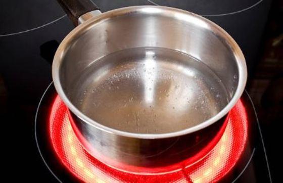 calentar agua