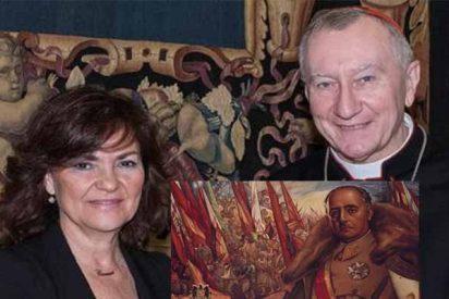 El Vaticano 'corrige' a la vice Calvo: no opinó sobre dónde se debe enterrar a Franco