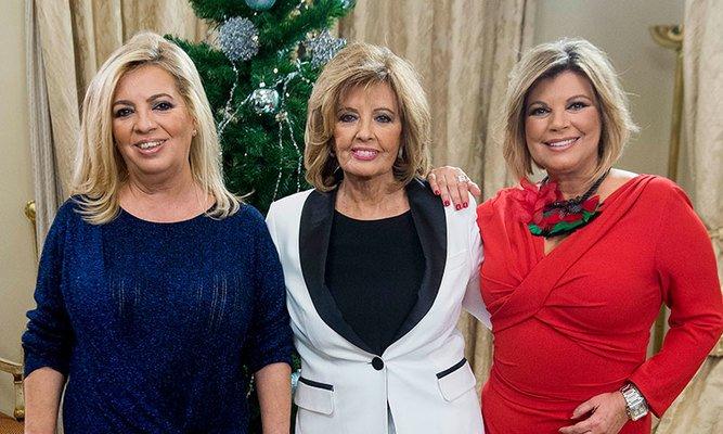 Telecinco hunde a Terelu, Teresa Campos y Carmen Borrego con su despido fulminante