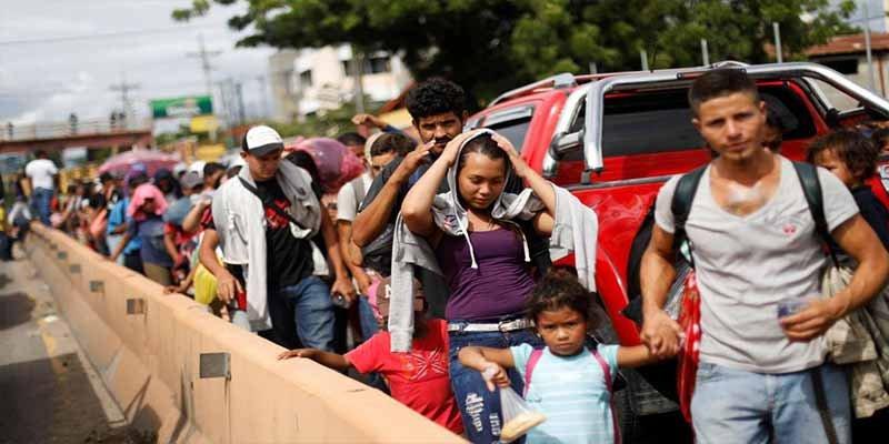 Donald Trump eliminará las ayudas económicas a tres países por no impedir la 'caravana migrante'
