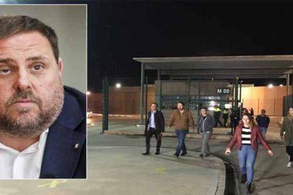 ¡Otro marronazo que deja bizco al Gobierno de Sánchez! La visita de Iglesias a Junqueras en la cárcel fue irregular