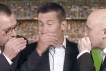 Las redes cargan contra Carlos Martínez, Maldini y Robinson por su descarada inclinación culé en el Valencia-Barça